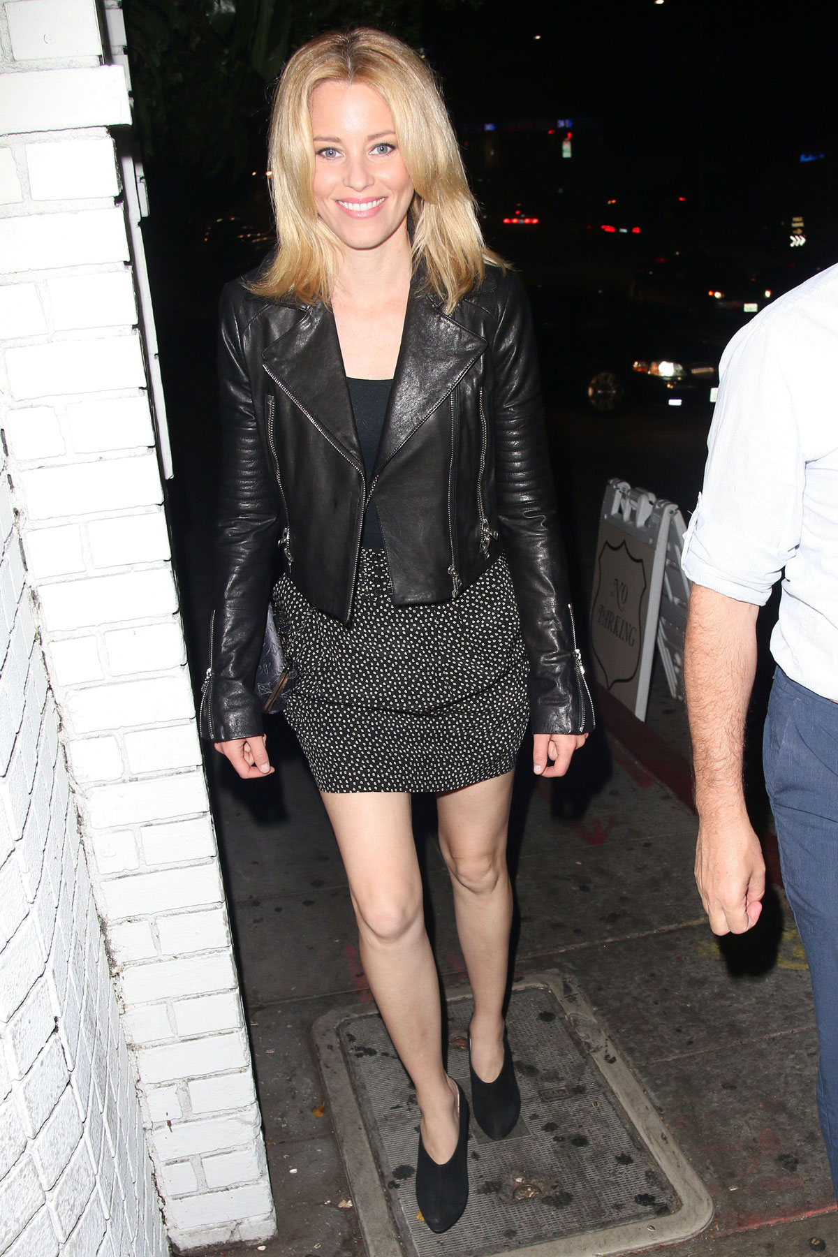 Elizabeth Banks at Chateau Marmont