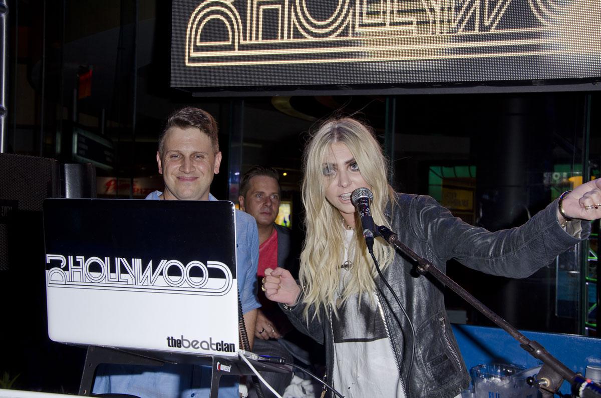Taylor Momsen attends Harrah's Casino Pool Party