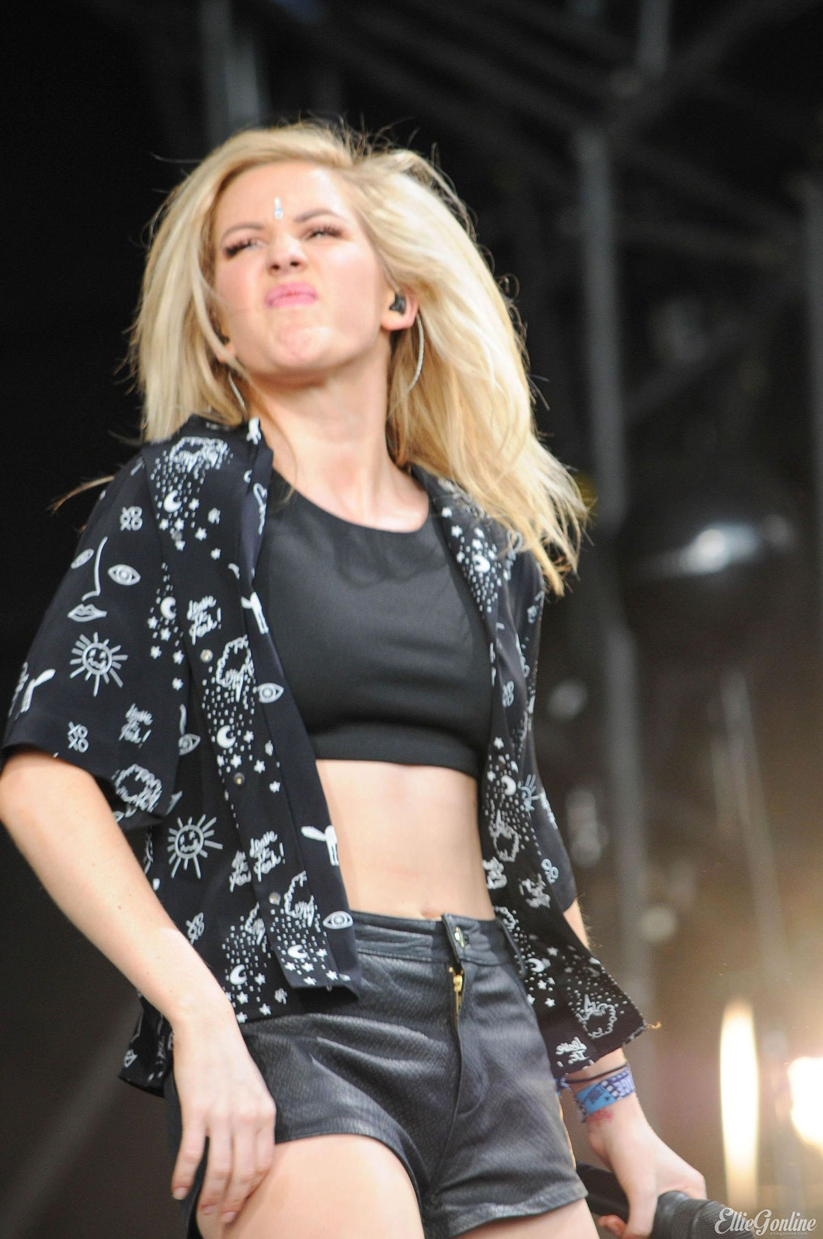 Ellie Goulding performs at T In The Park