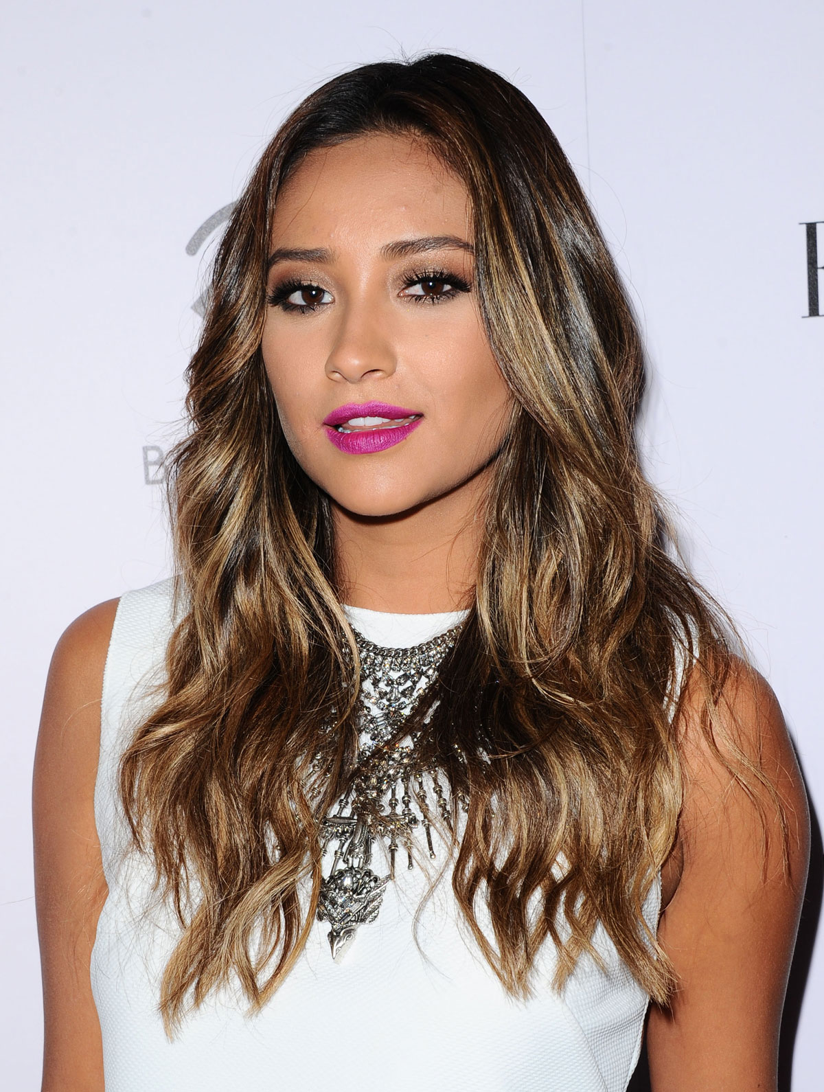 Shay Mitchell attends 2014 BeautyCon