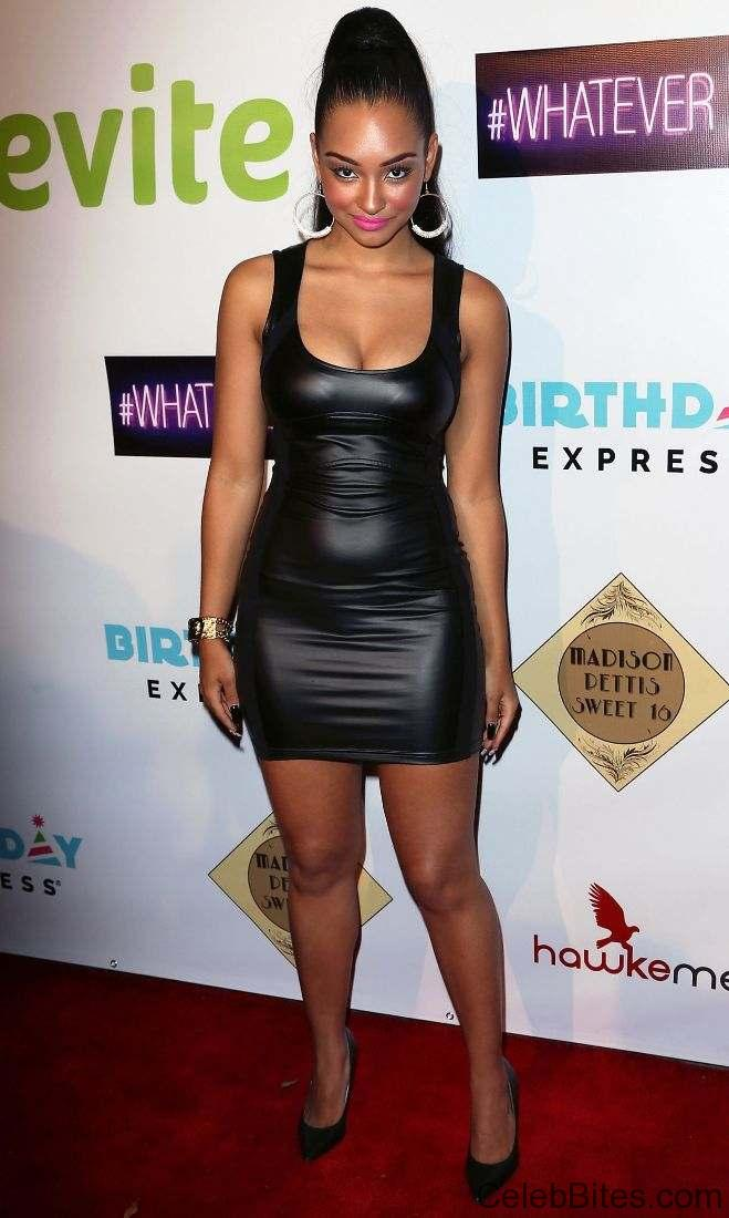 Jessica Jarrell attends Madison Pettis Sweet 16 Birthday Party