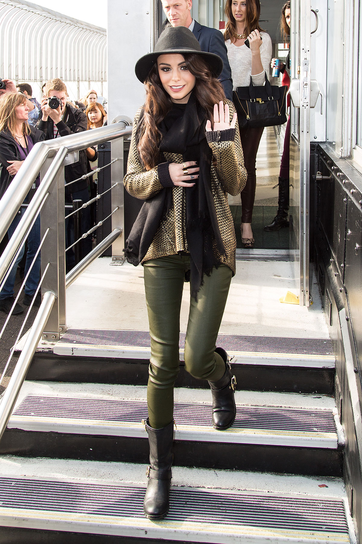 Cher Lloyd hosted by the Empire State Building
