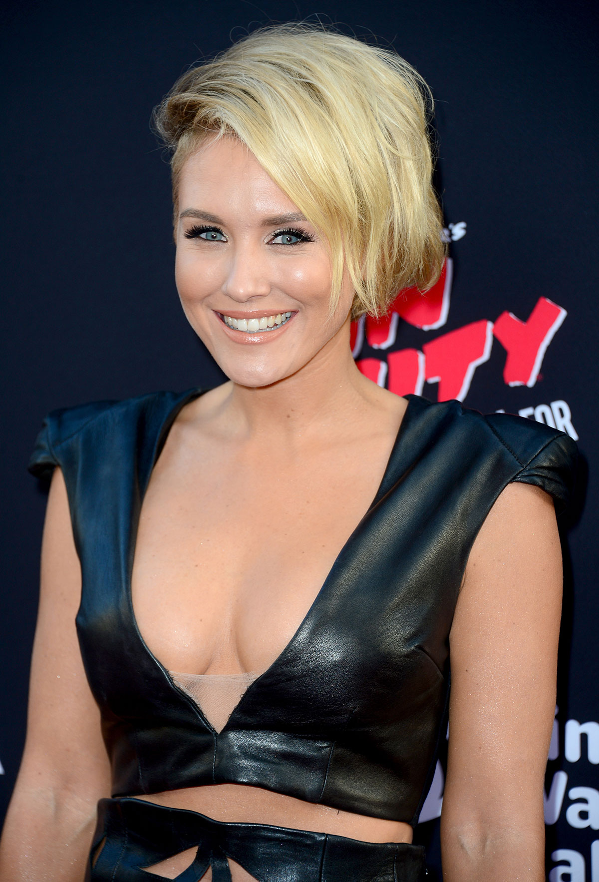 Nicky Whelan attends Sin City A Dame to Kill For Hollywood Premiere
