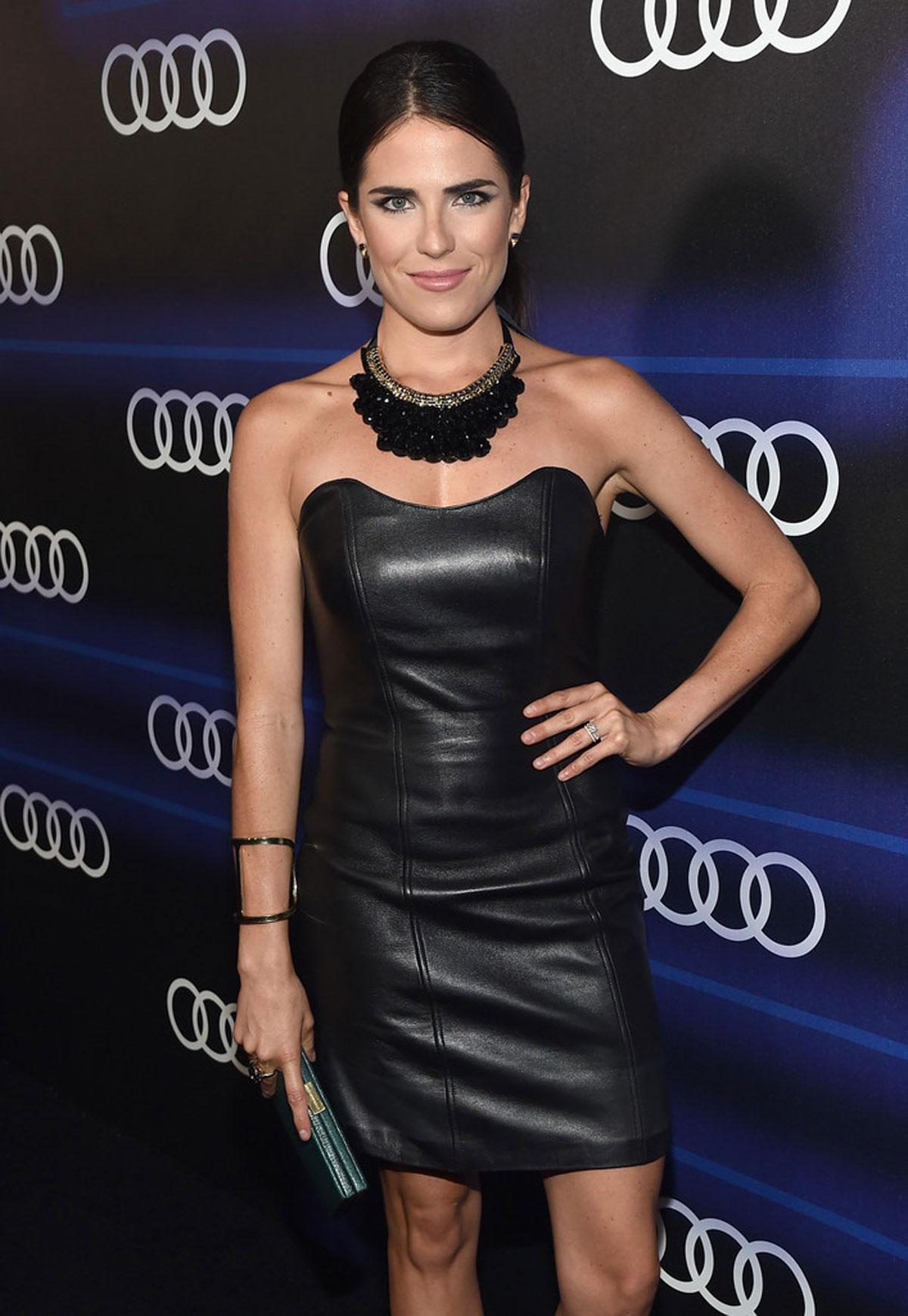 Karla Souza attends Audi's Celebration of Emmys Week 2014