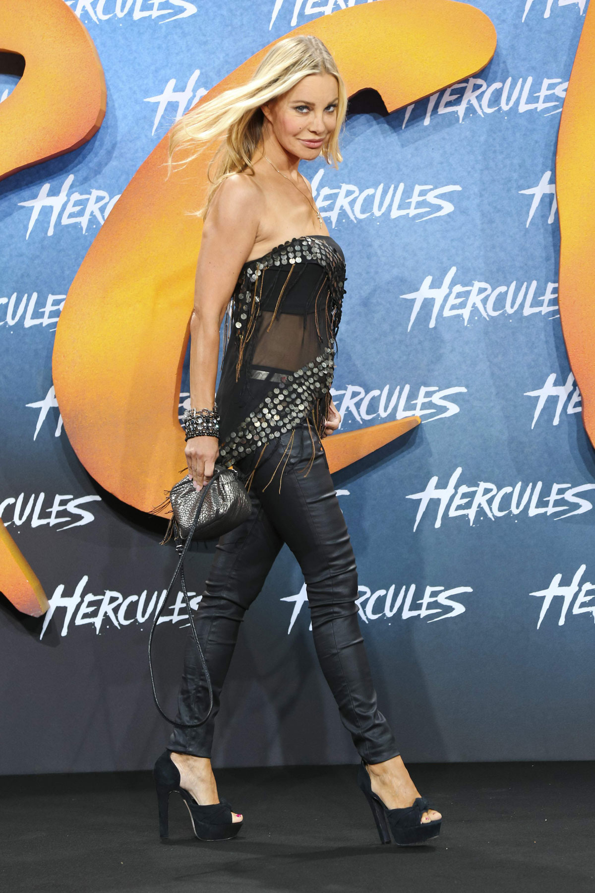 Xenia Seeberg at the European premiere of Hercules