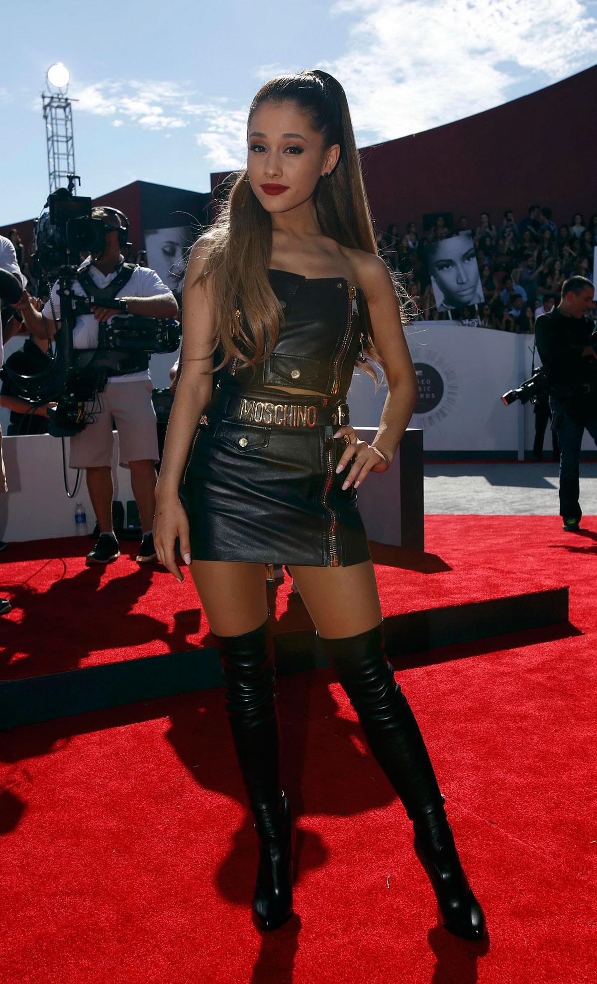 Ariana Grande attends 2014 MTV Video Music Awards
