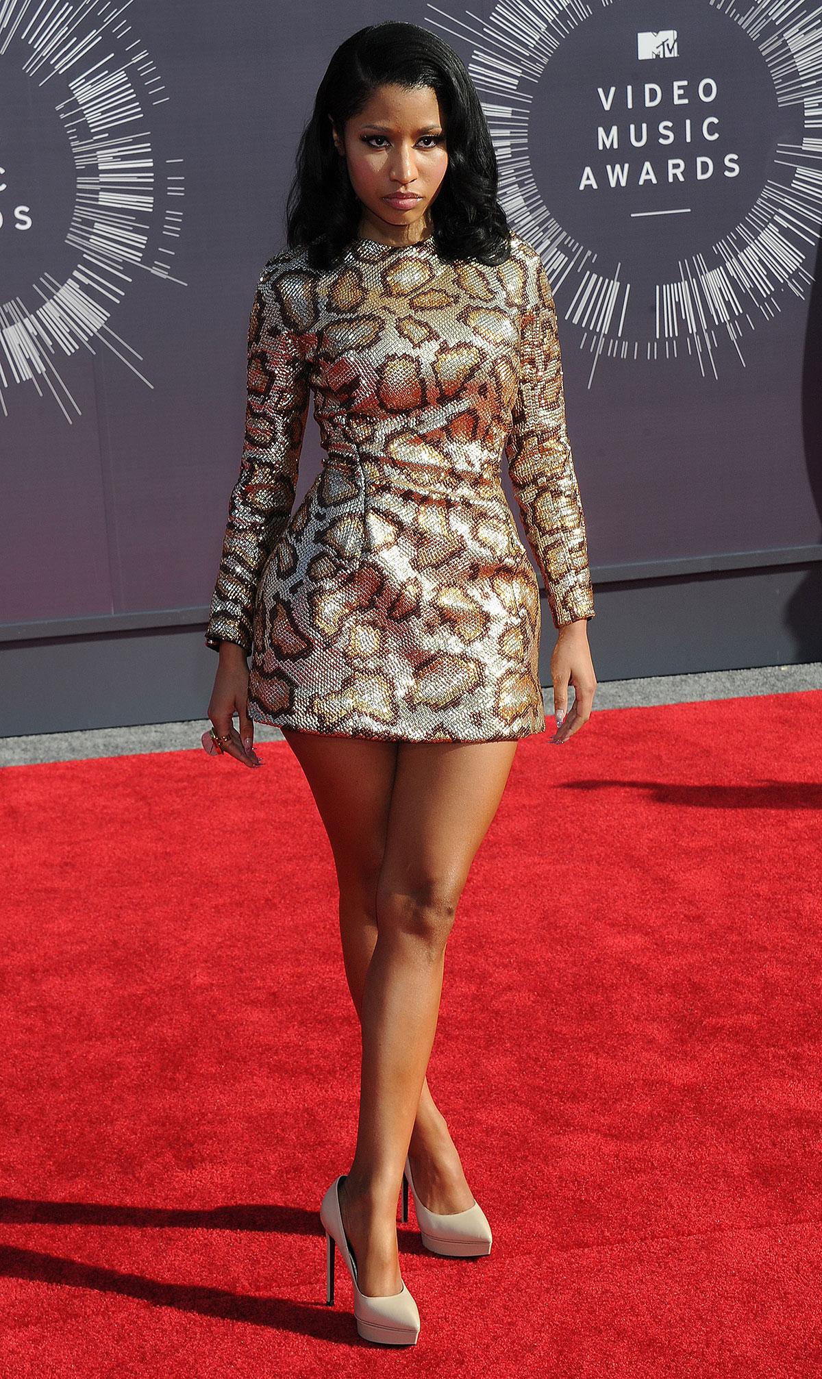 Nicki Minaj attends 2014 MTV Video Music Awards