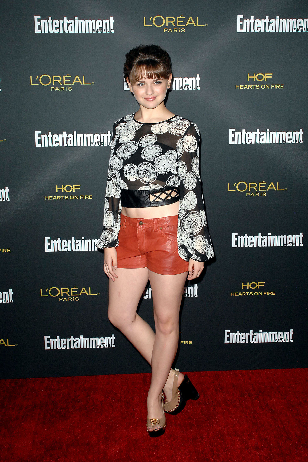 Joey King attends Entertainment Weekly Pre-Emmy Party