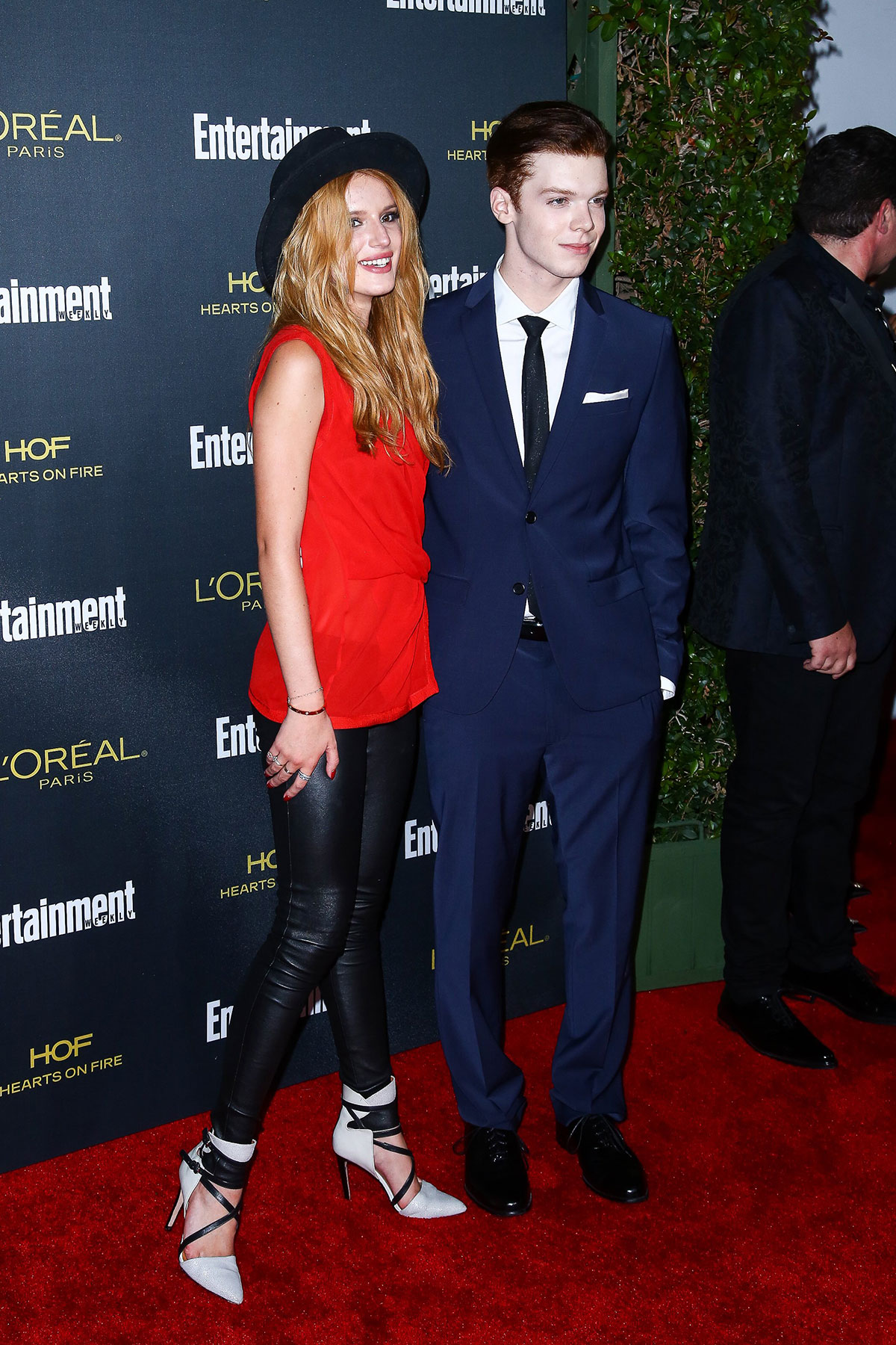 Bella Thorne attends Entertainment Weekly Pre-Emmy Party