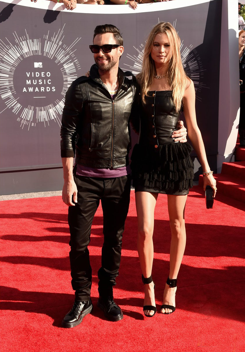 Behati Prinsloo at the MTV Video Music Awards