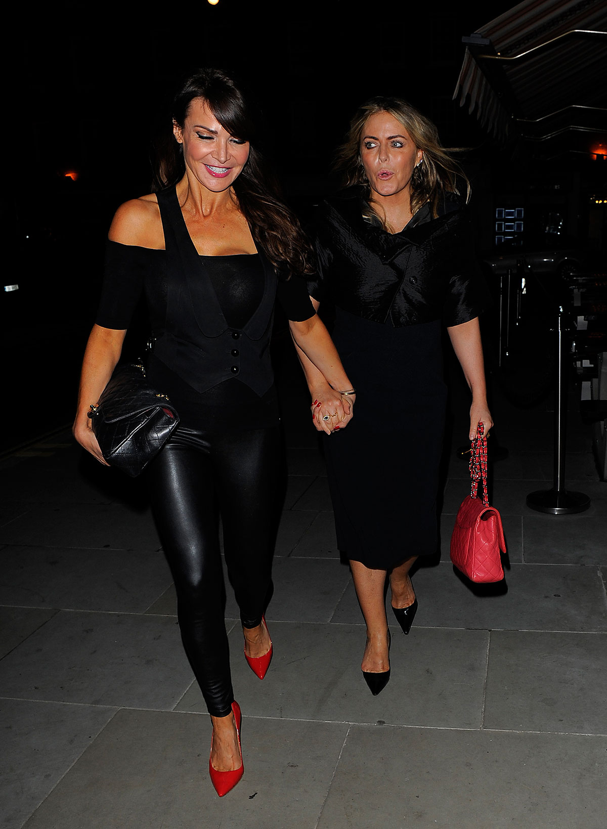 Lizzie Cundy at The Chiltern Firehouse in London