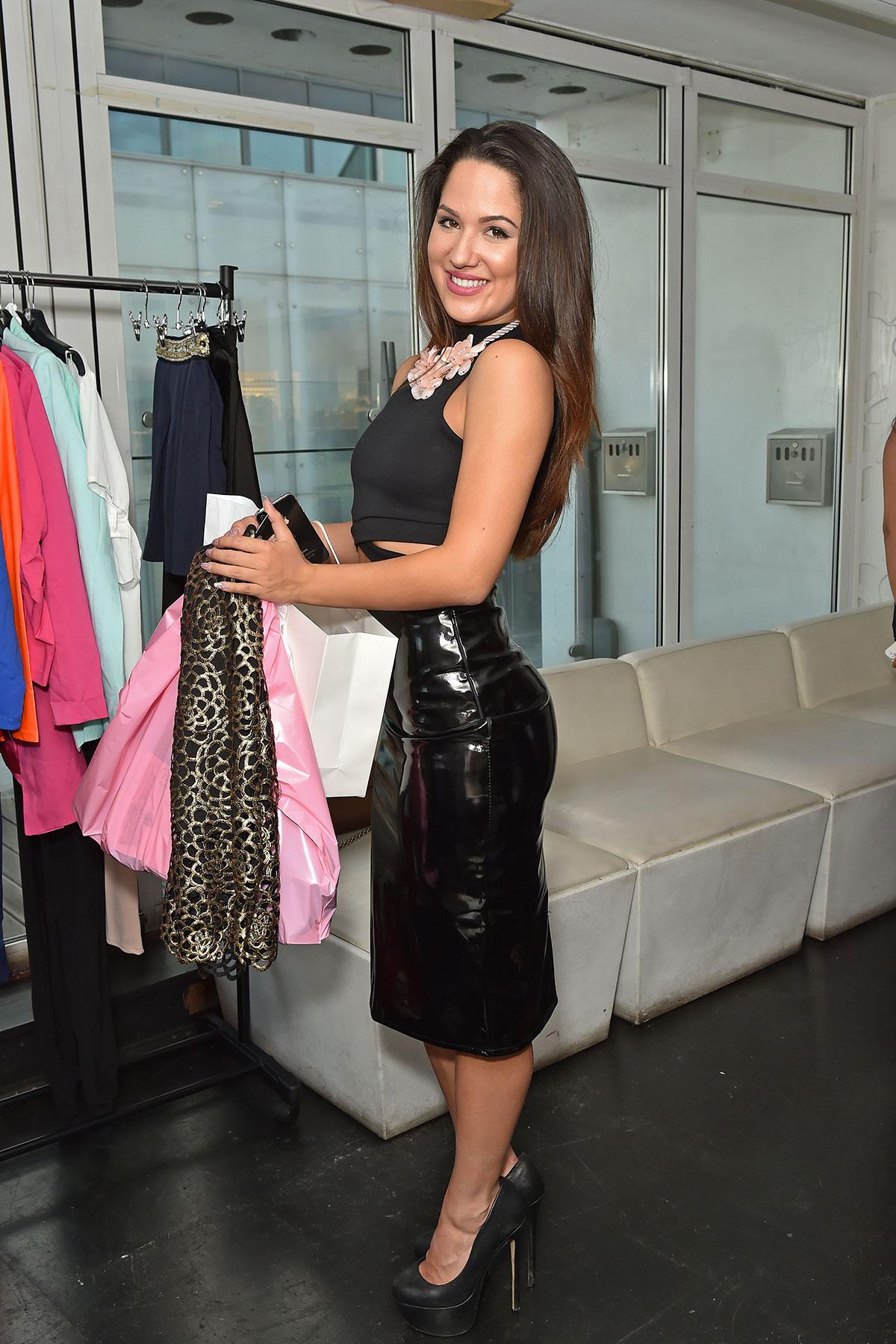 Kimberly Kisselovich attends Bloggers Fashion Week