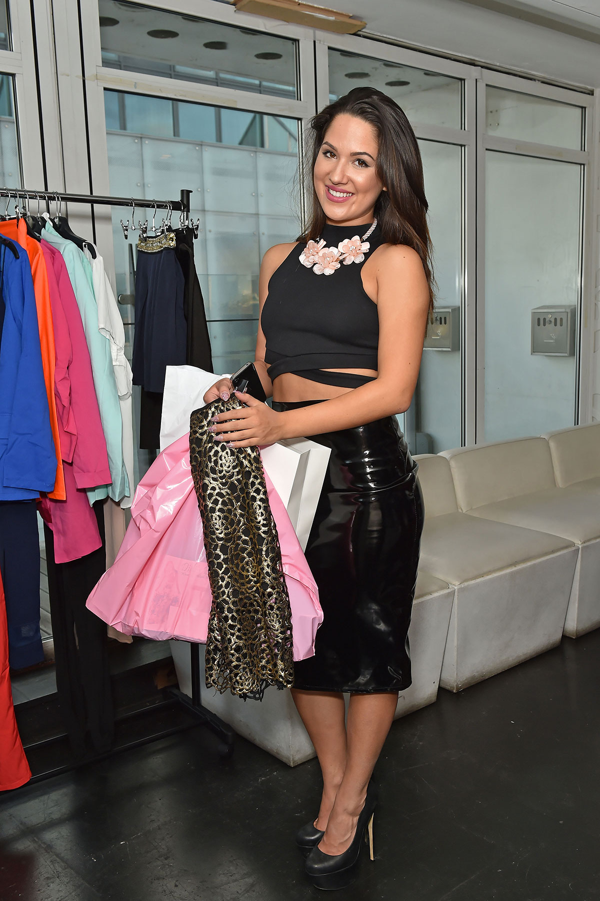Kimberly Kisselovich attends Bloggers Fashion Week