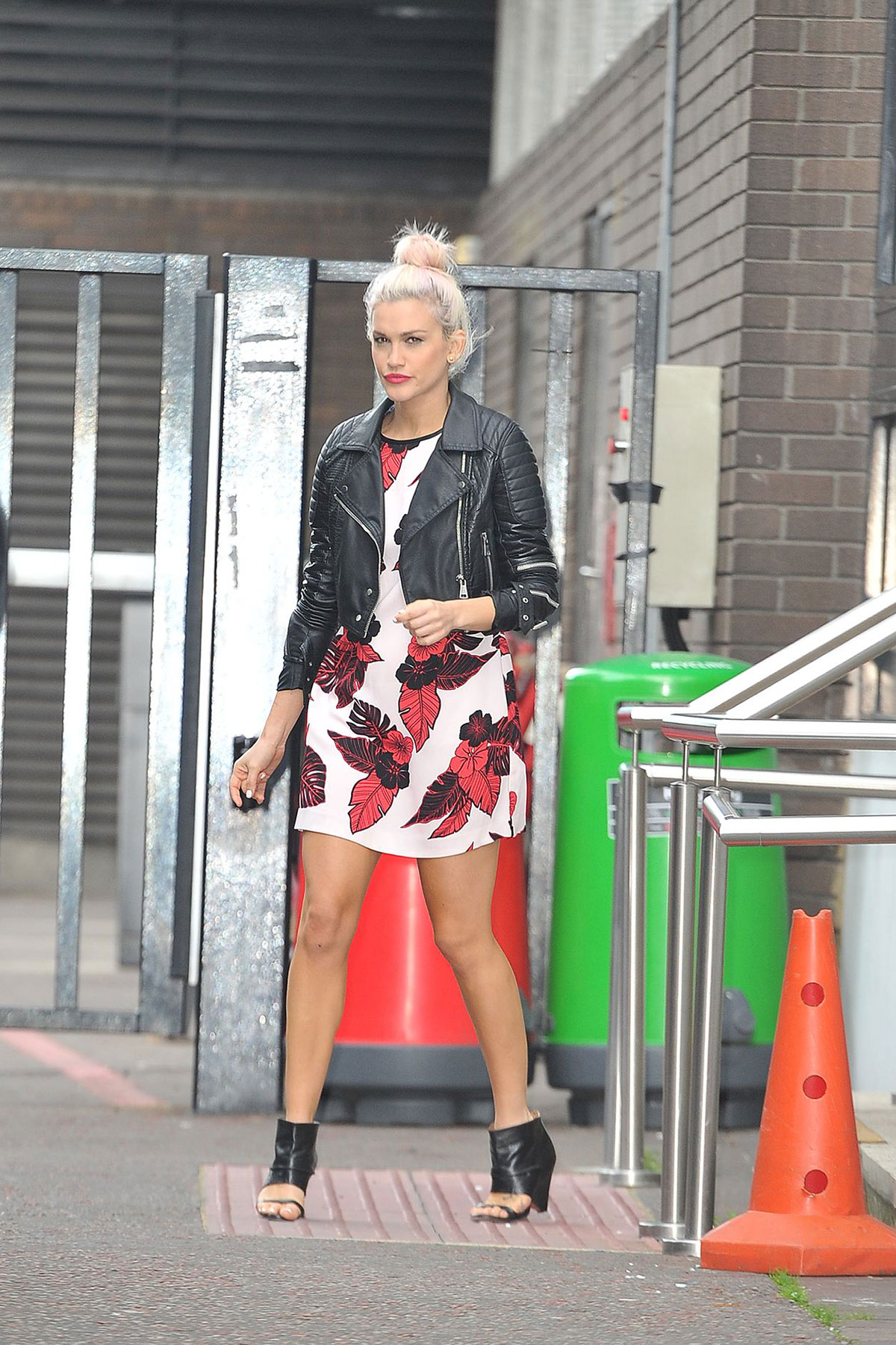 Ashley Roberts at ITV Studios in London