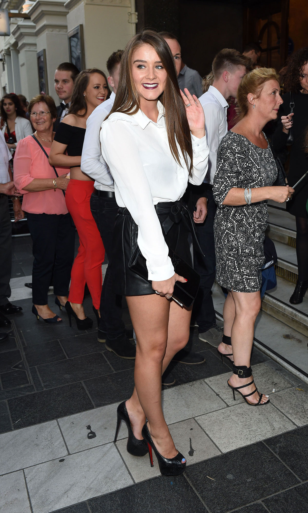 Brooke Vincent attends Lord Of The Dance Dangerous Games