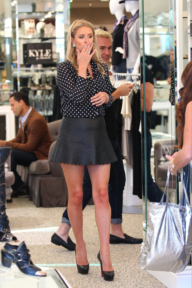 Nicky Hilton is seen in Beverly Hills