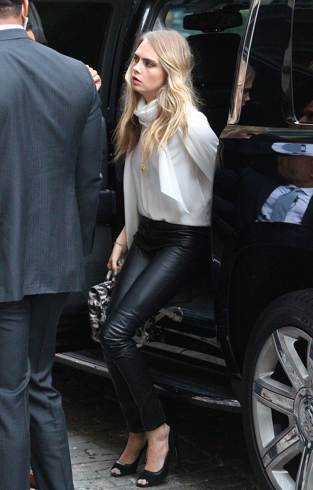 Cara Delevingne out and about in New York City
