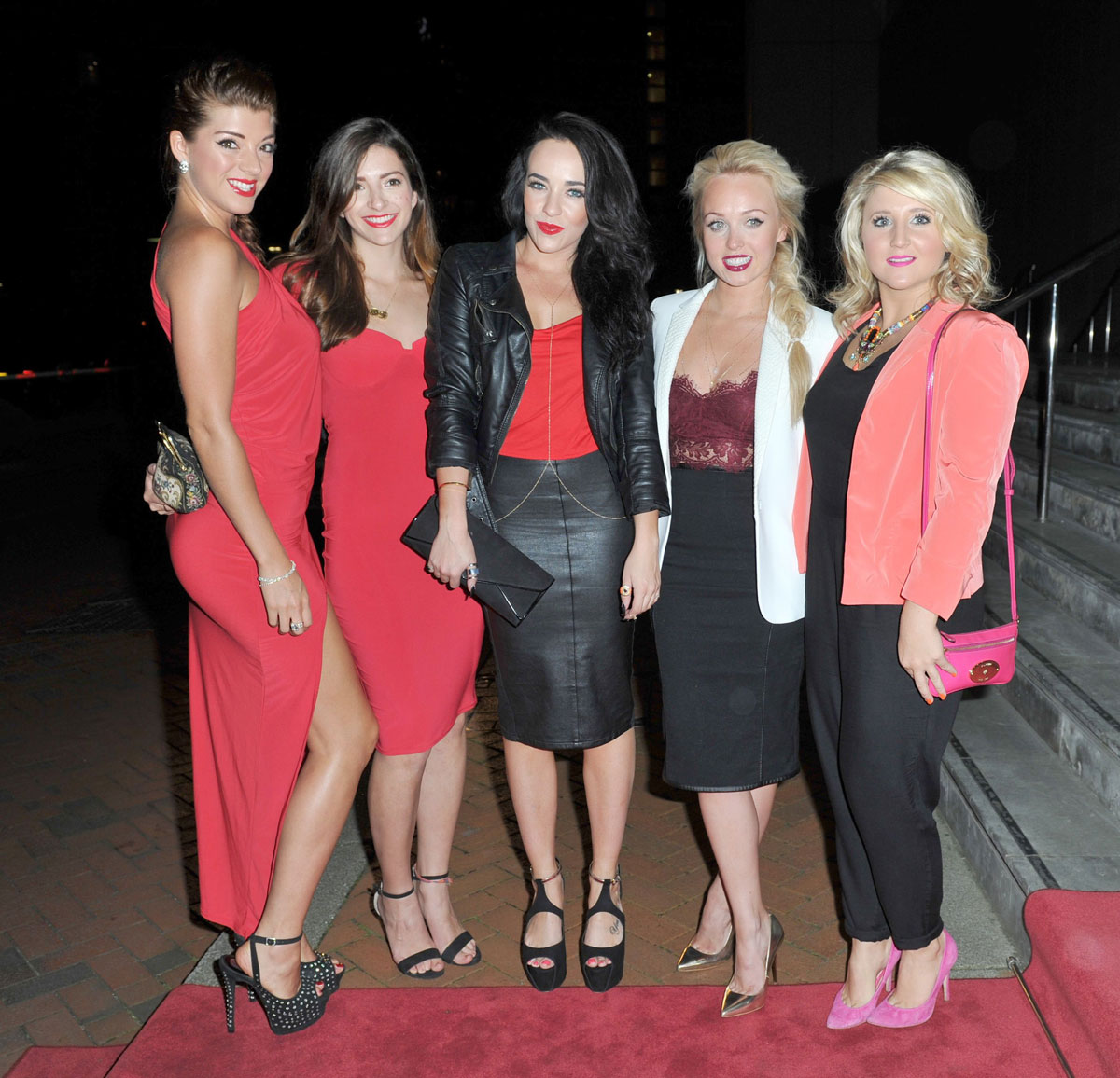 Steph Davis attend MEN Diary Party in Manchester