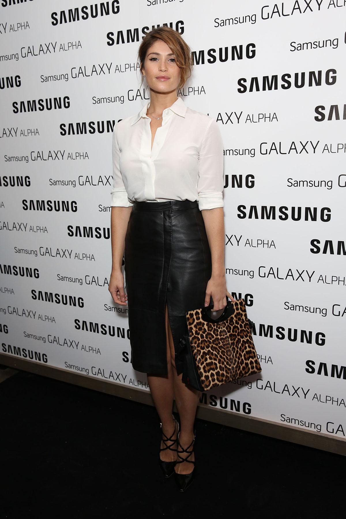 Gemma Arterton attends Samsung Galaxy Alpha Launch party