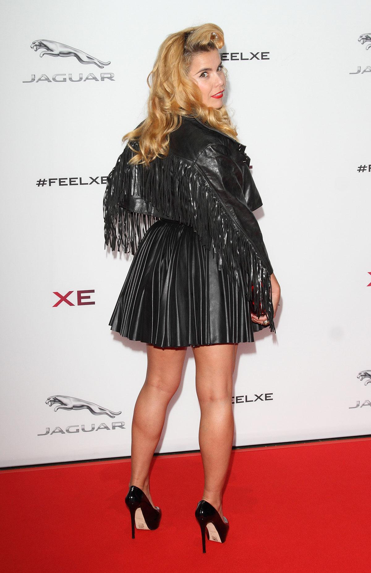 Paloma Faith attends Global Launch Of New Jaguar XE Sport Saloon