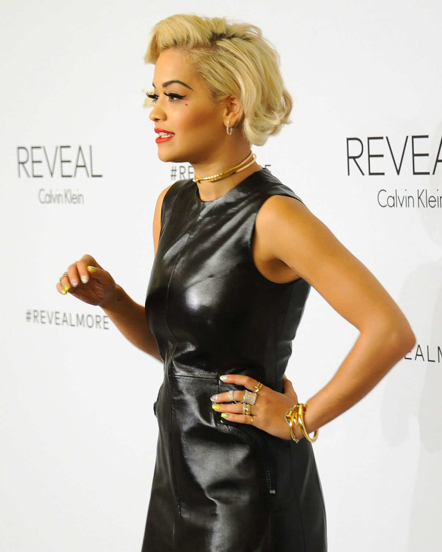 Rita Ora attends REVEAL Calvin Klein Fragrance Launch