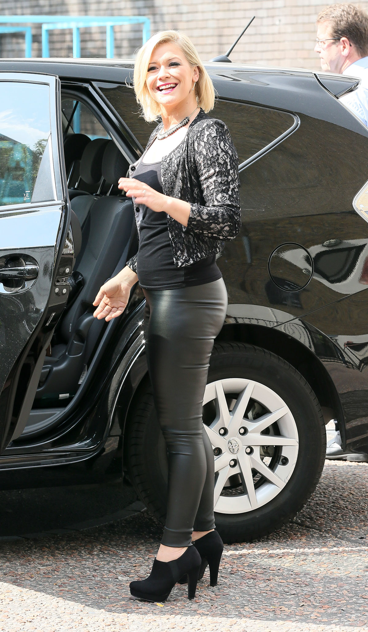 Suzanne Shaw at ITV Studios in London