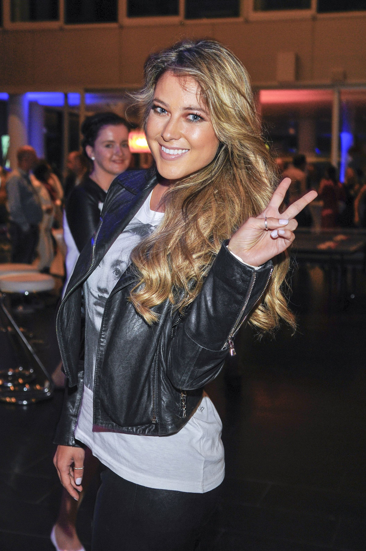 Vanessa Huppenkothen attends the Hamburger Sommerfest
