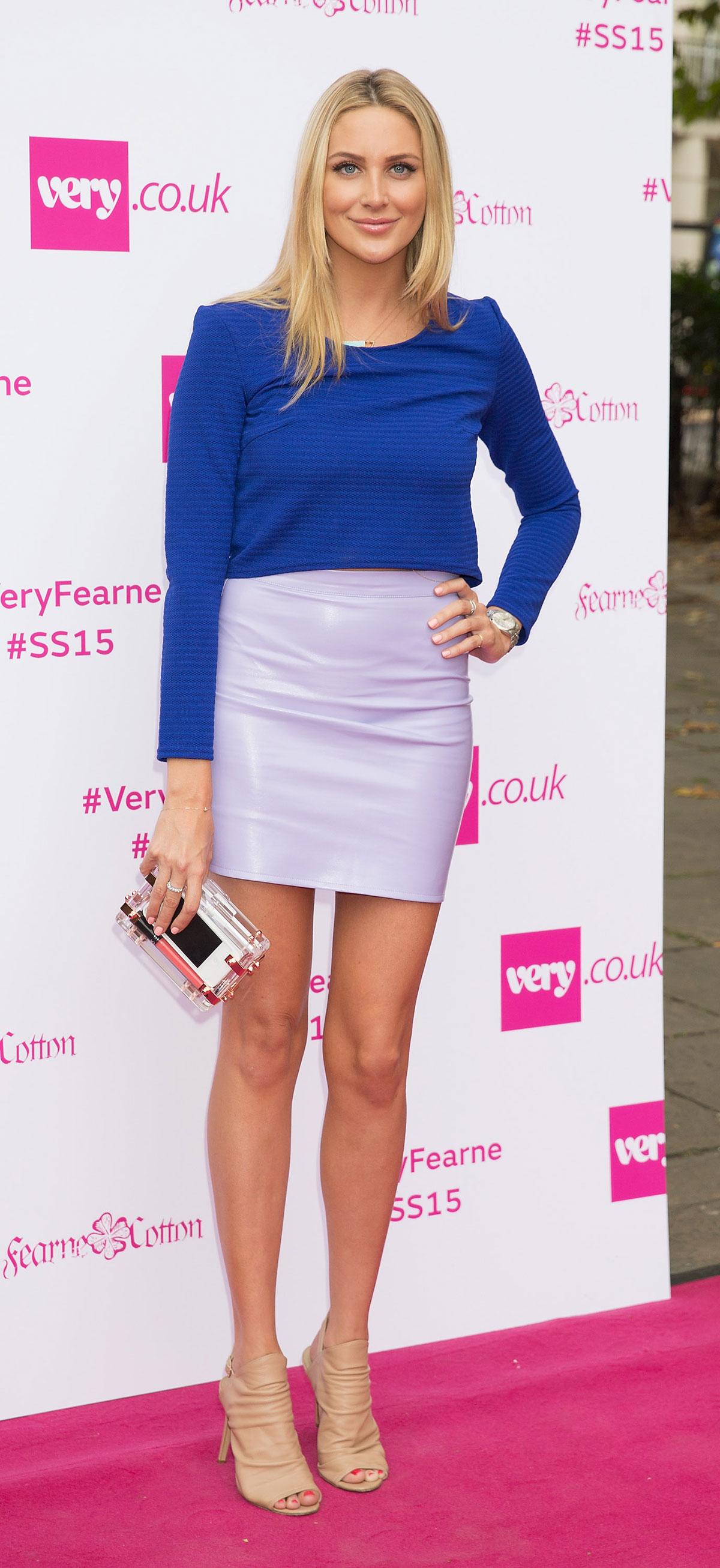 Stephanie Pratt attends Fearne Cotton's Very.co.uk Fashion Show