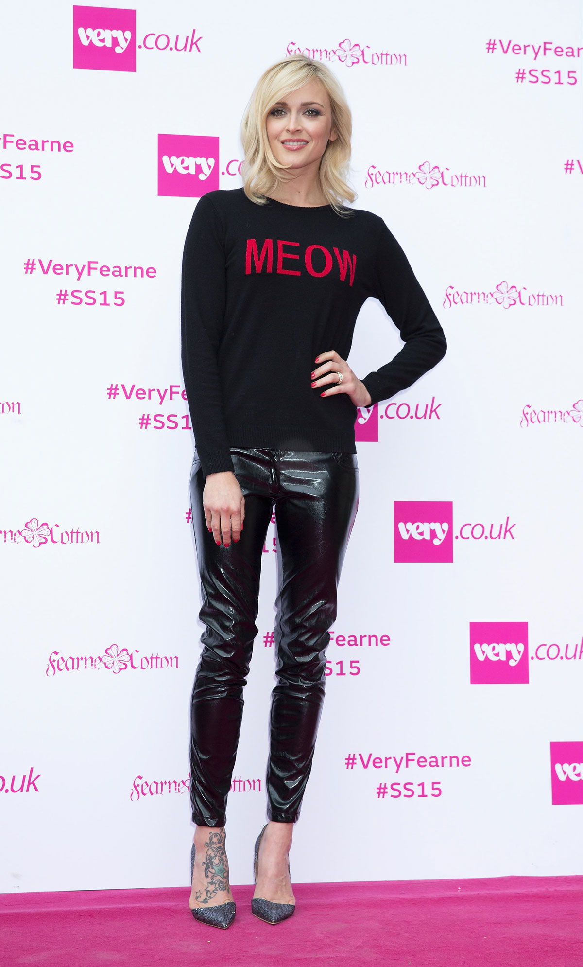 Fearne Cotton attends Fearne Cotton's Very.co.uk Fashion Show