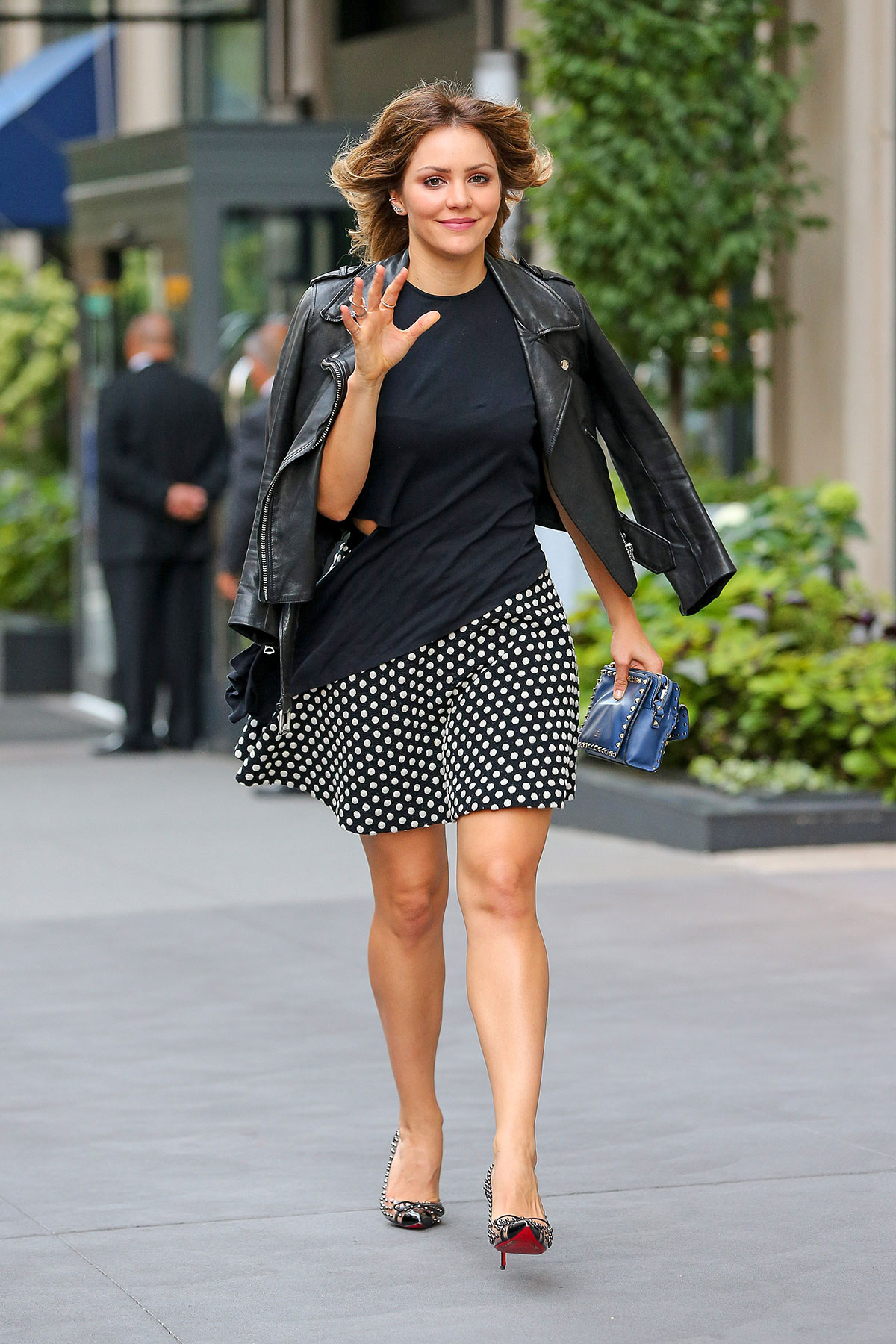 Katharine McPhee out in New York City
