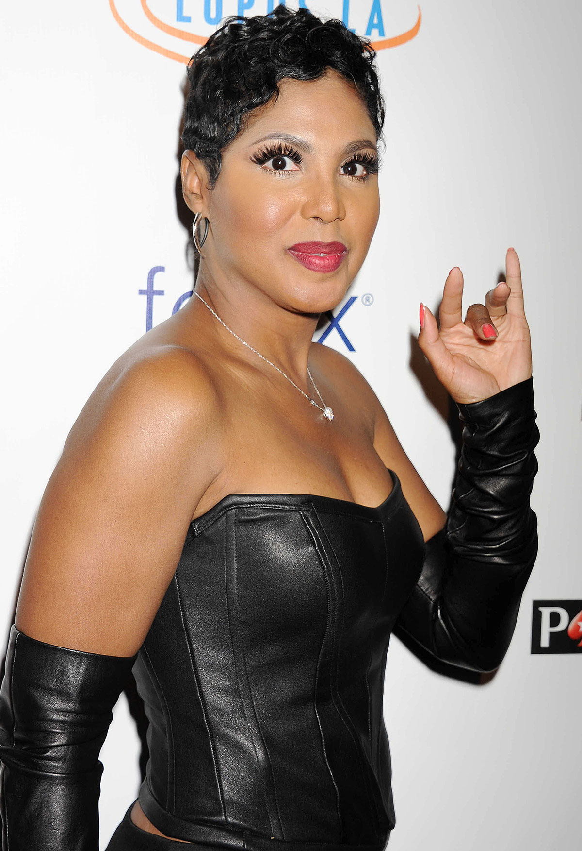 Toni Braxton attends Stars Get Lucky For Lupus: 6th Annual Poker Tournament