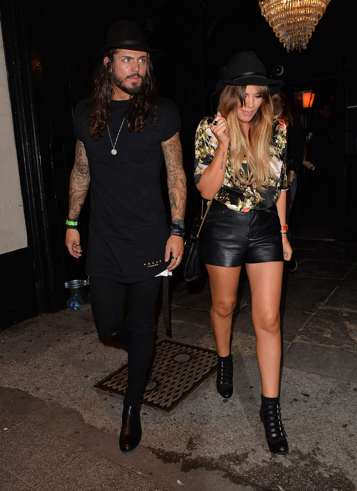 Maria Fowler attends Nicola McLean's birthday party