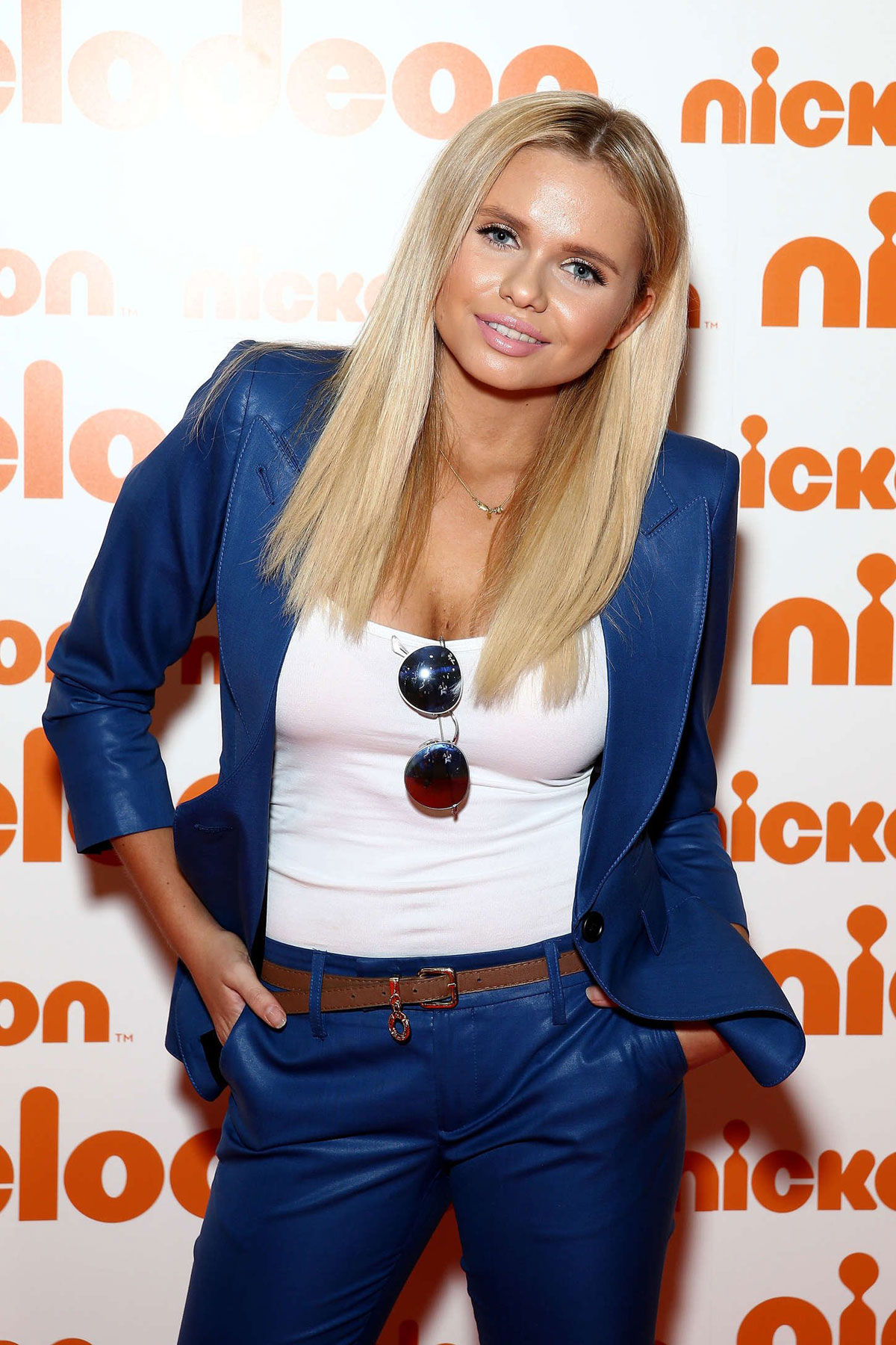 Alli Simpson attends Nickelodeon Slimefest 2014 matinee show