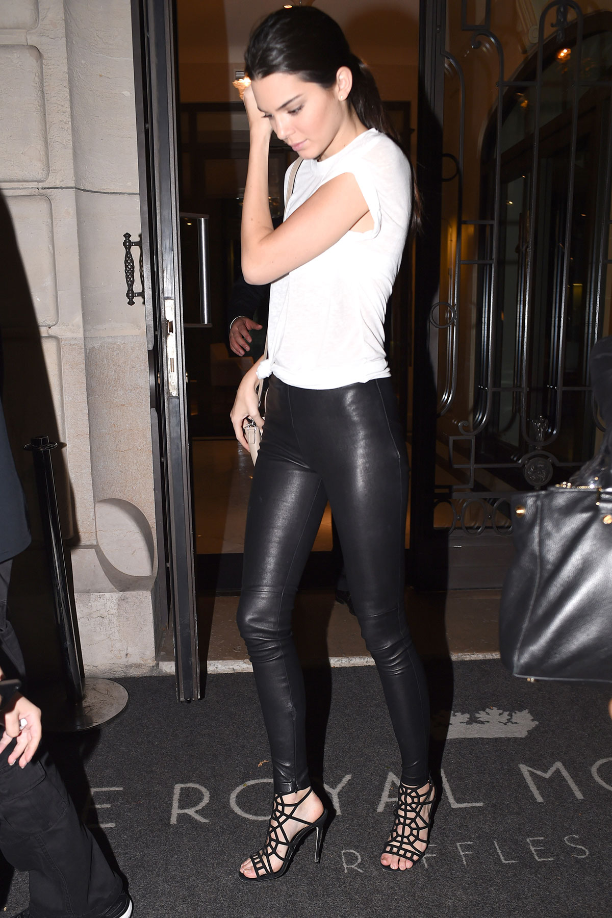 Kendall Jenner was seen in Paris