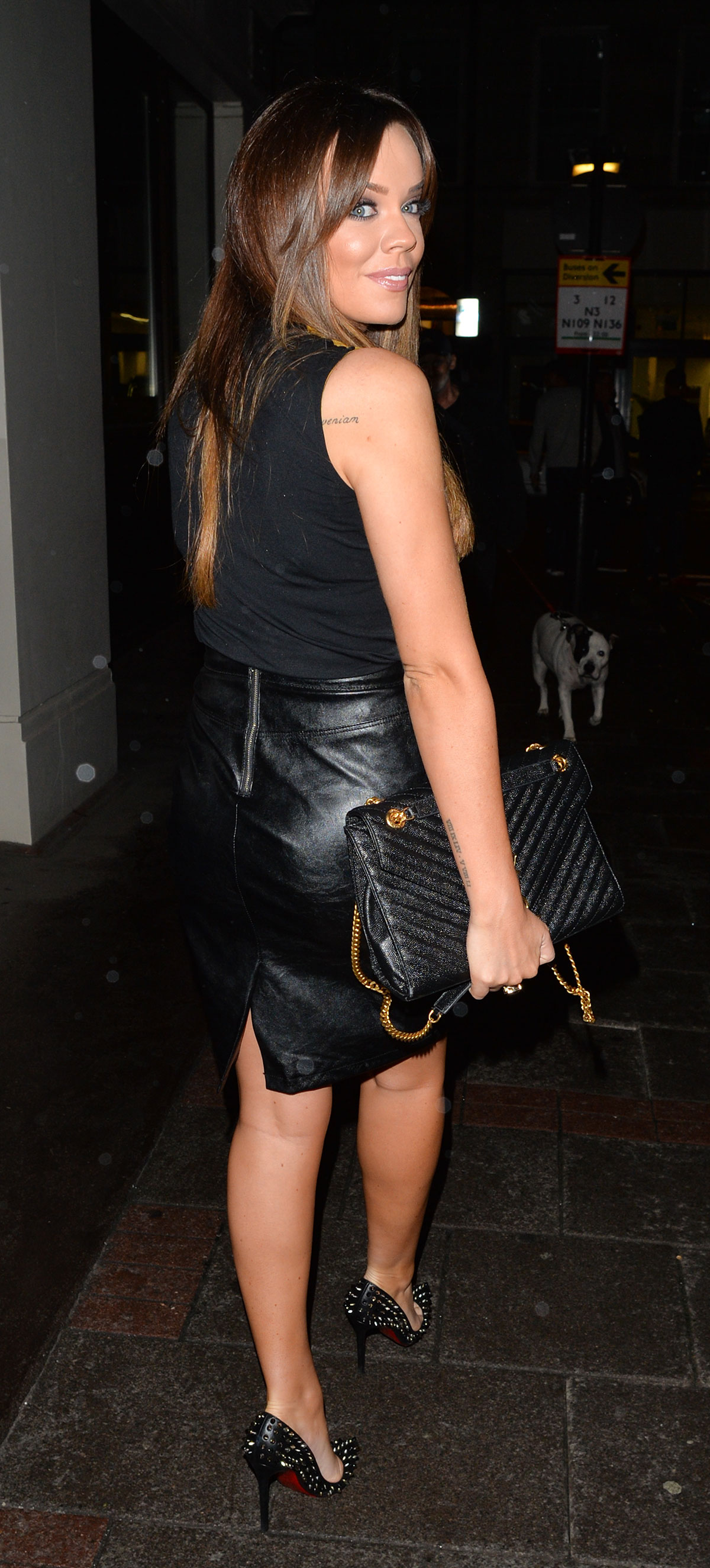 Maria Fowler was spotted with Chloe Goodman leaving Novikov