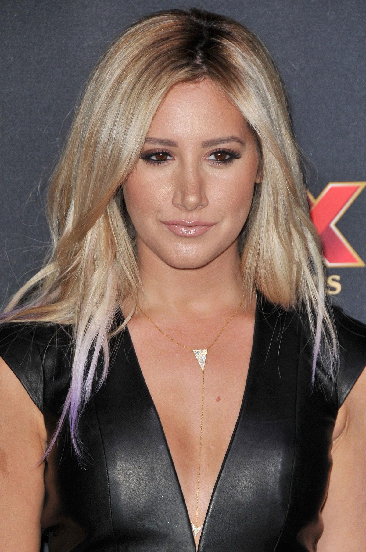 Ashley Tisdale attneds The Walking Dead season 5 premiere