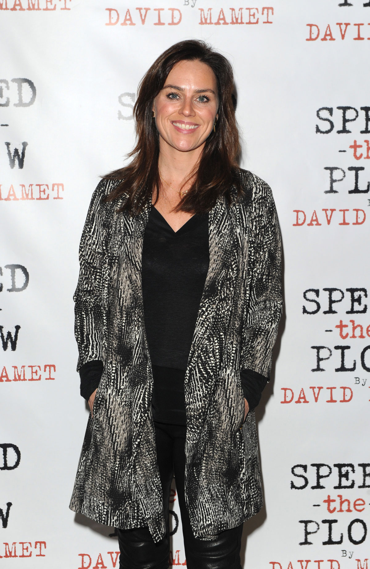 Jill Halfpenny attends Speed-the-Plow after party