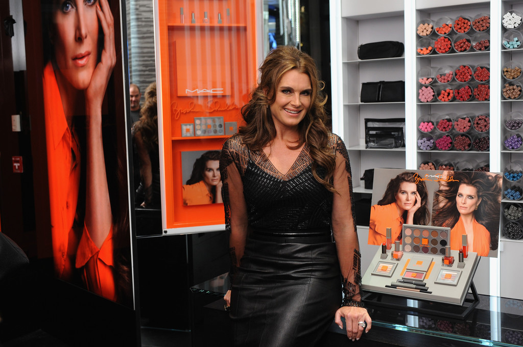 Brooke Shields attends MAC Cosmetics launch of the Brooke Shields Collection