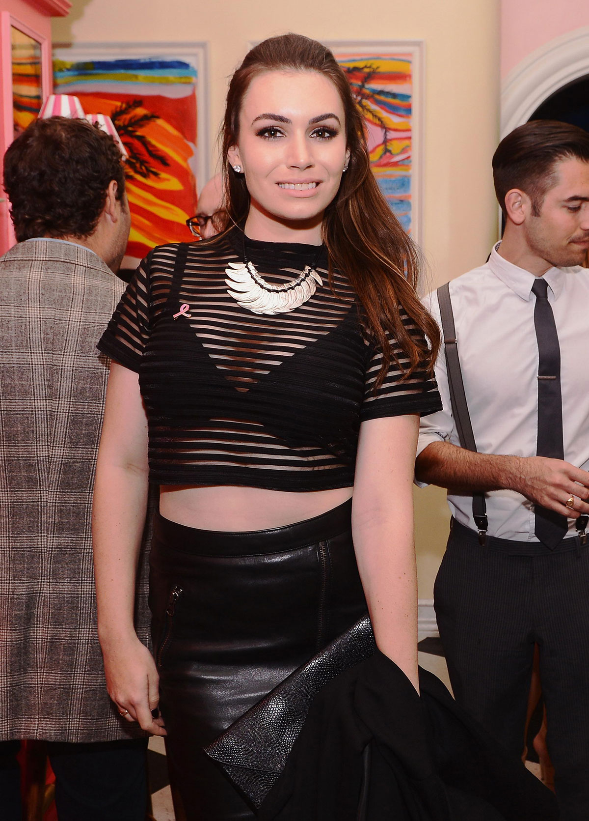 Sophie Simmons attends Cinema Society special screening of Hear Our Stories. Share Yours
