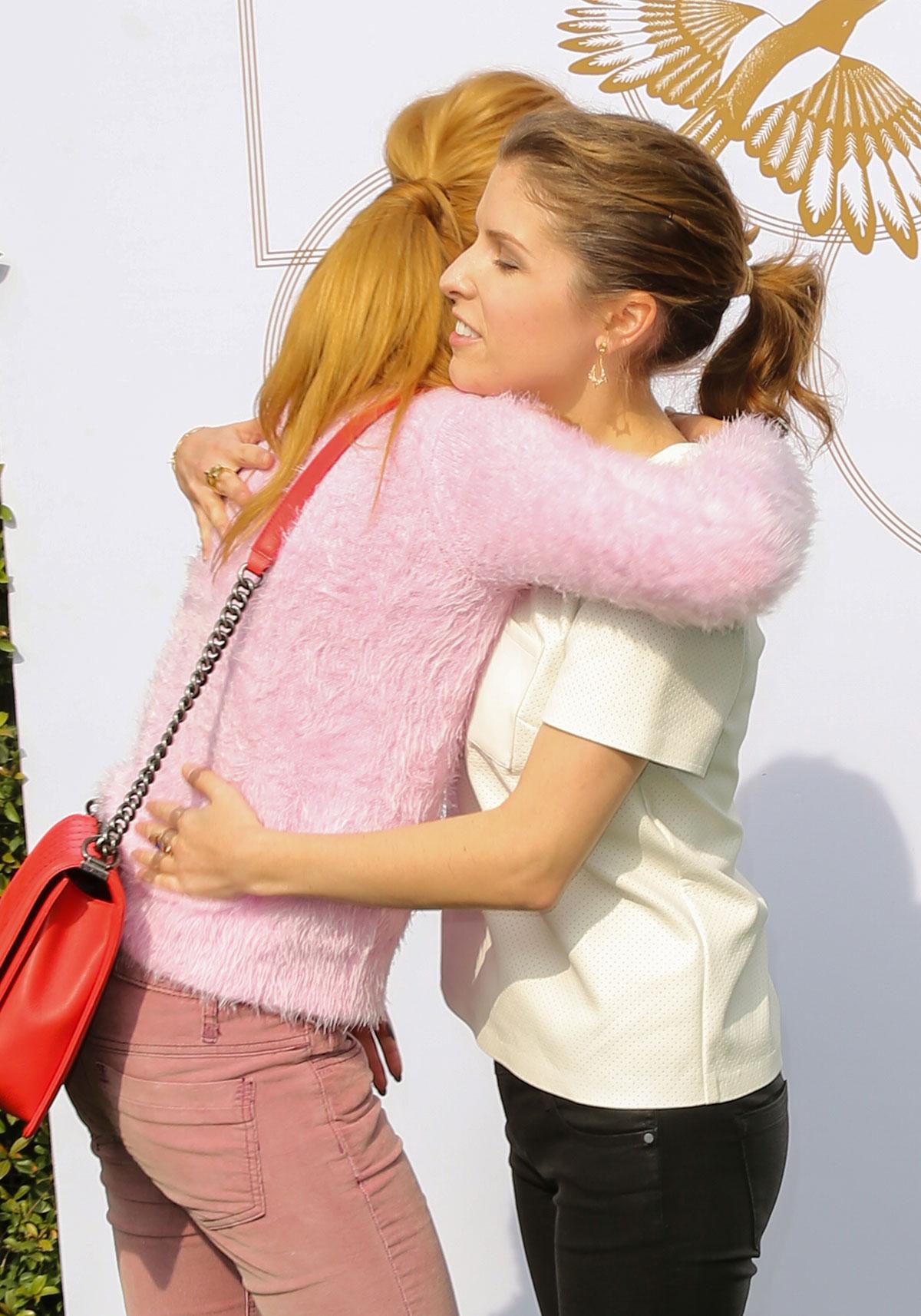 Anna Kendrick attends LOVEGOLD Luncheon celebrating Michelle Dockery