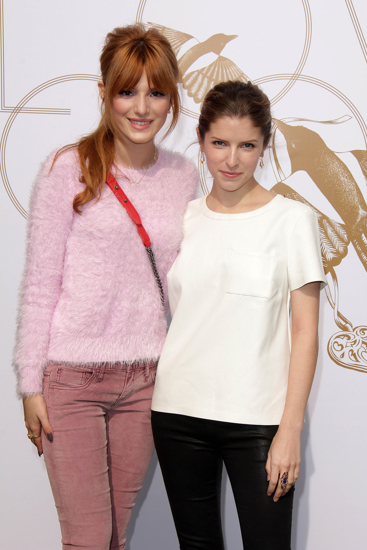 Anna Kendrick attends LOVEGOLD Luncheon celebrating Michelle Dockery