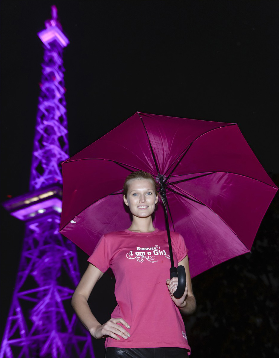 Toni Garrn attends International Day Of The Girl Child