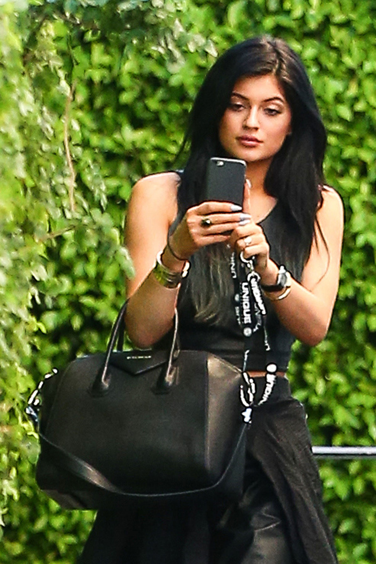 Kylie Jenner out in Calabasas