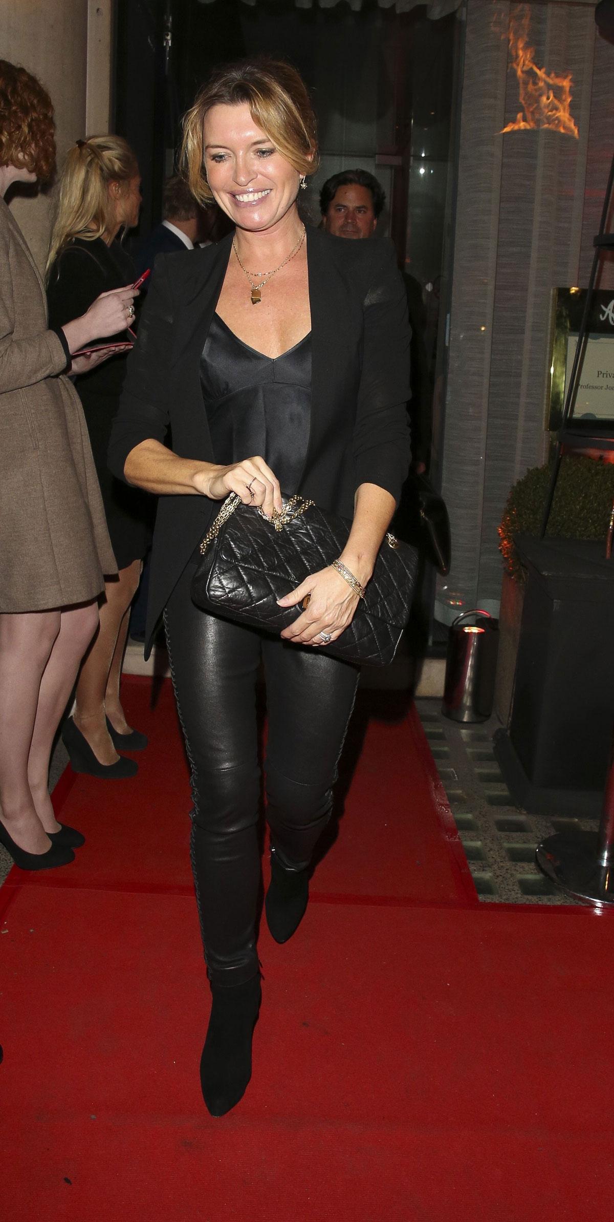Tina Hobley attends Shalit OBE Party London
