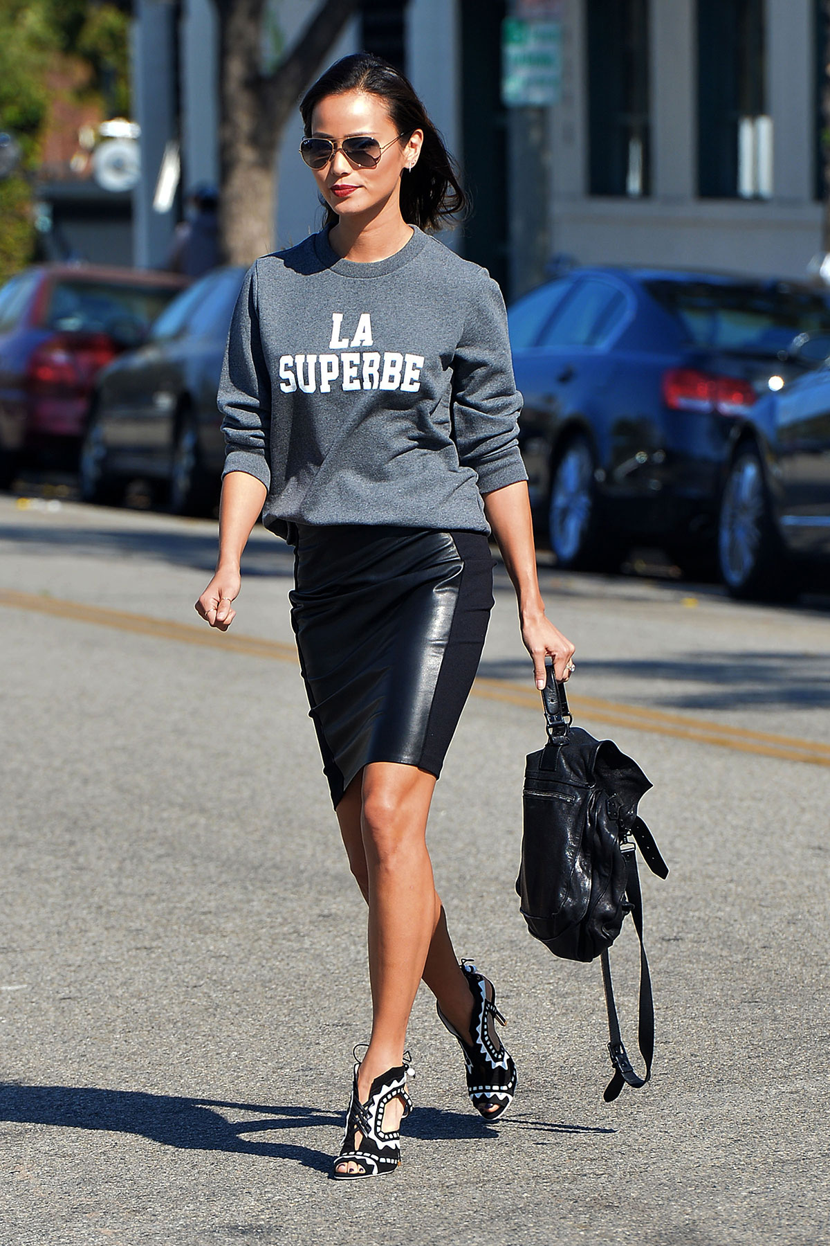 Jamie Chung out & about in Hollywood