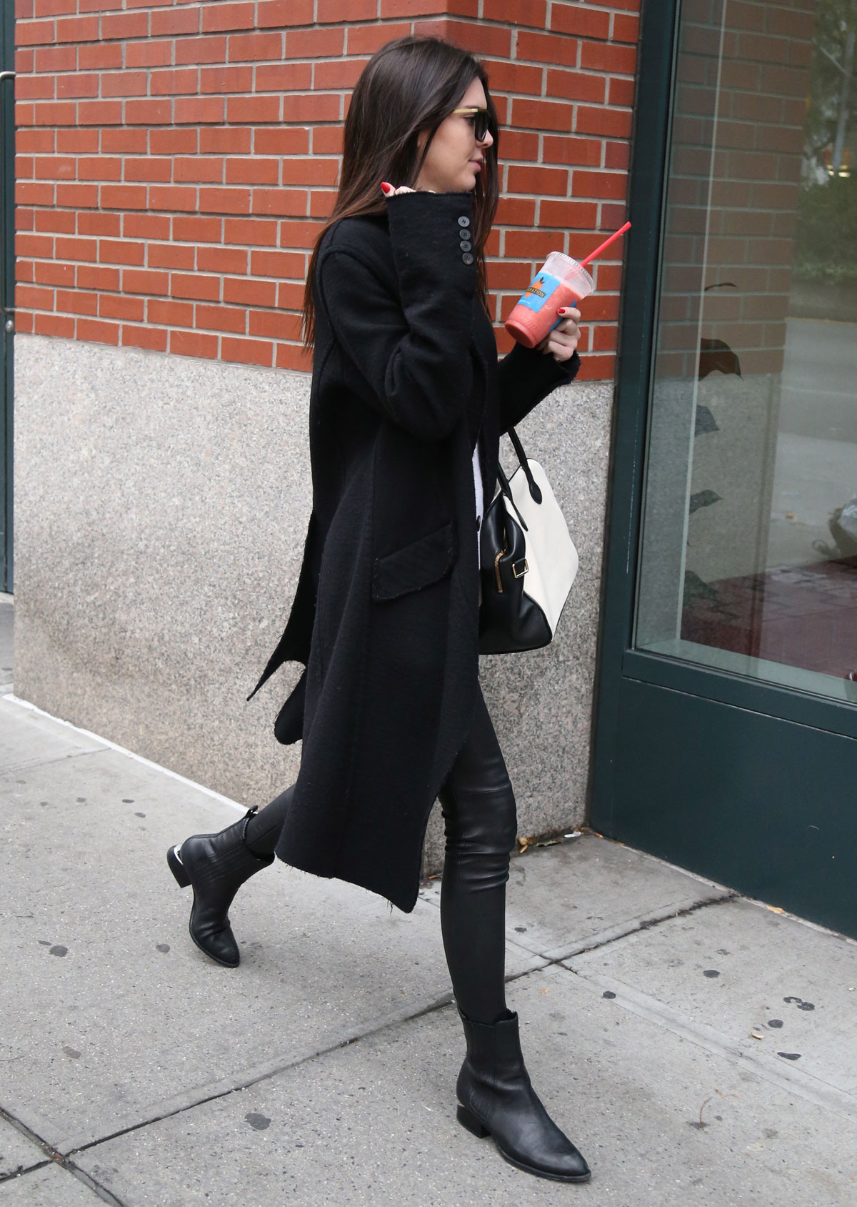 Kendall Jenner out in NYC