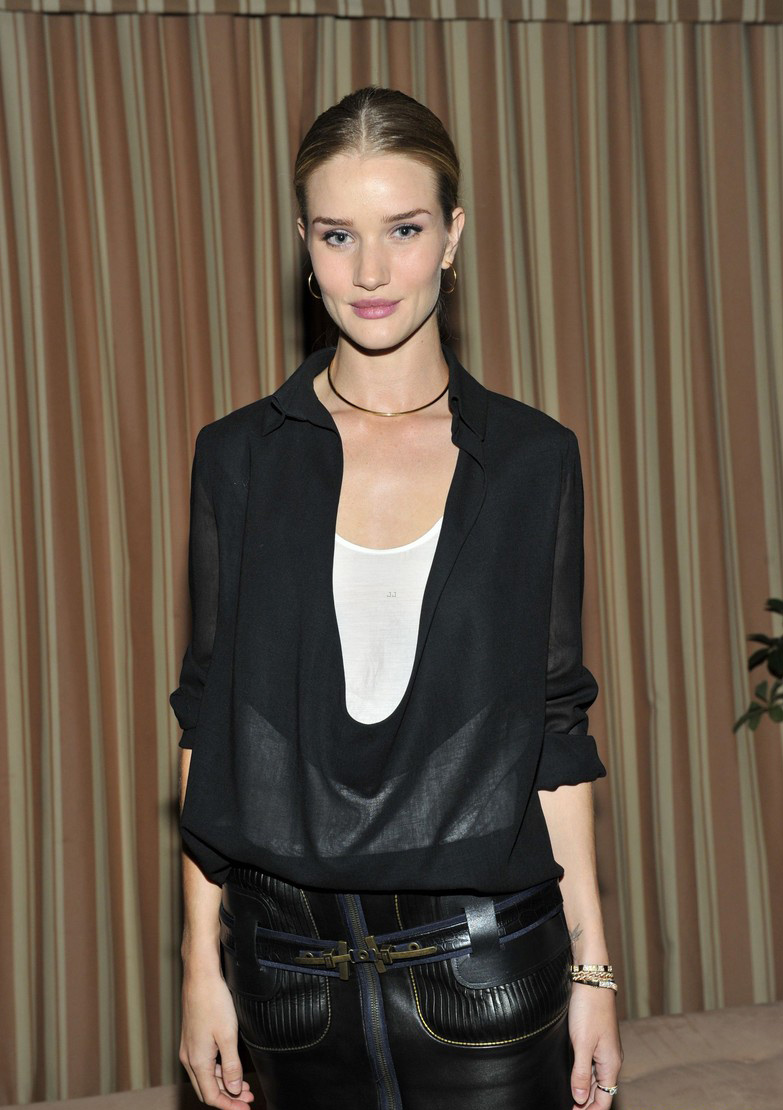Rosie Huntington-Whiteley at the FORWARD by Elyse Walker and Anthony Vaccarello dinner
