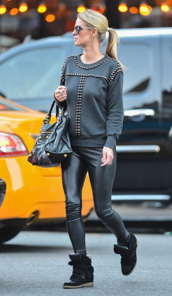 Nicky Hilton went for a stroll in New York City