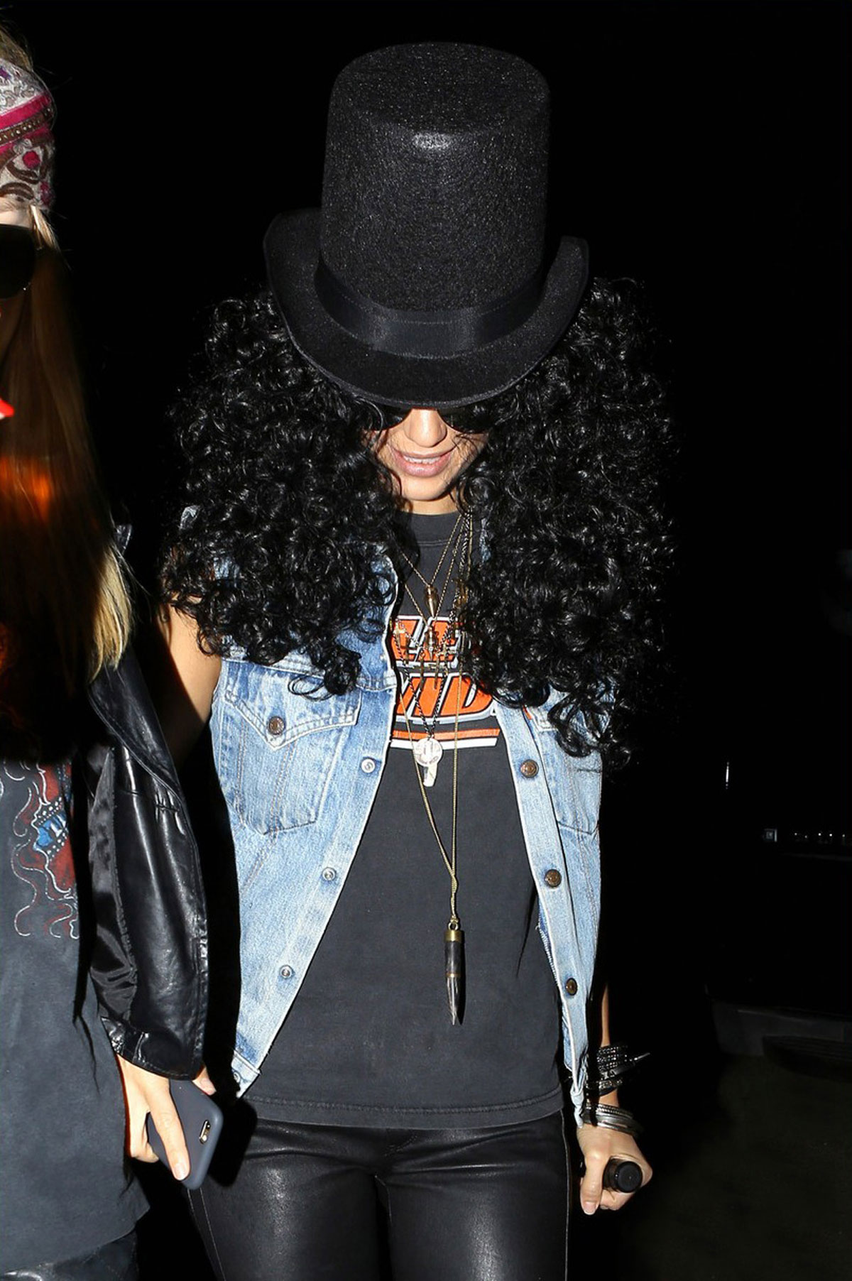 Jessica Alba was seen while stepping out for Halloween at Kate Hudson's Annual Party