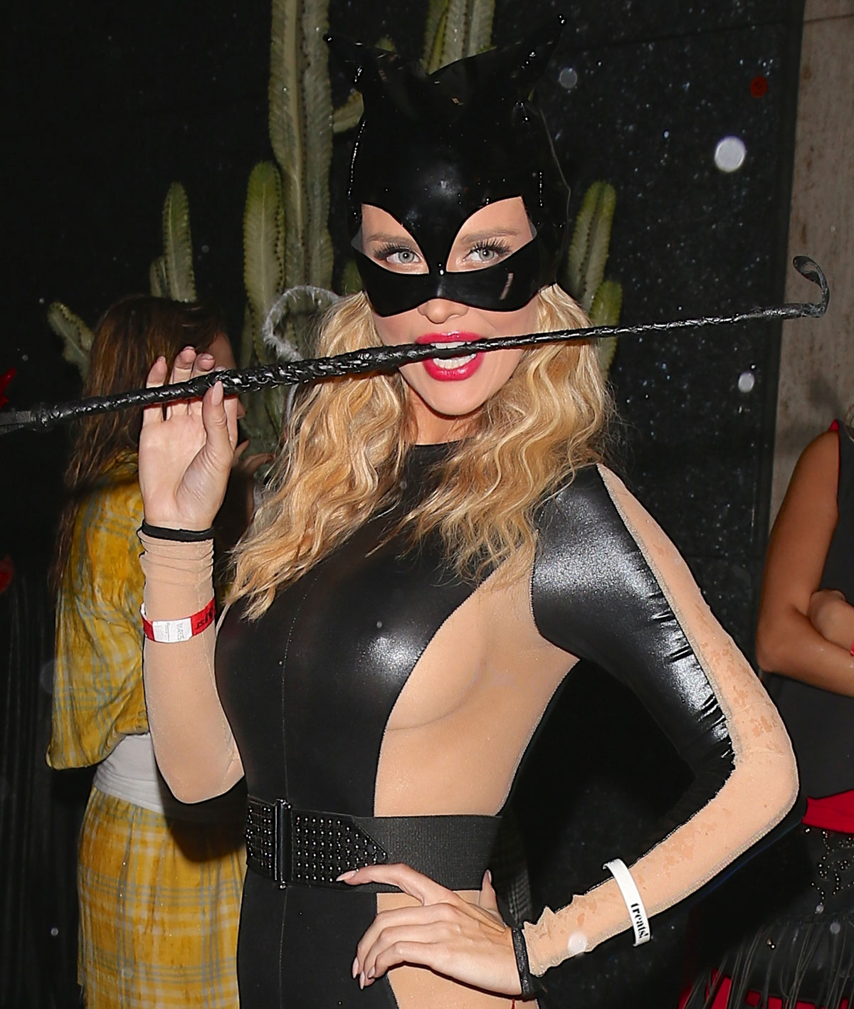 Joanna Krupa attends Halloween Party